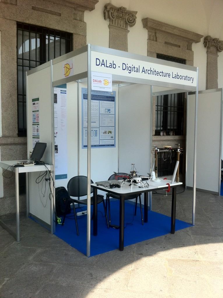 DALab - Stand @ New Game Designer 2015 - Università degli Studi di Milano