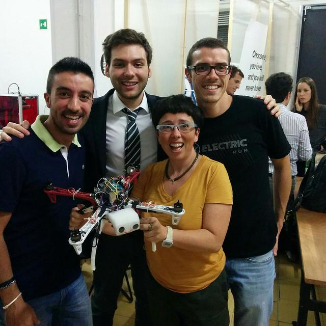 Comelicottero Team and Zoe Romano @ WeMake Milano