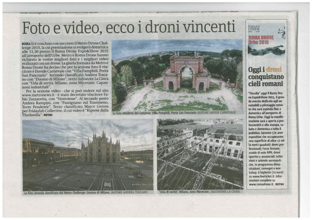 Metro News Italia 29 Maggio 2015 (29/05/2015)