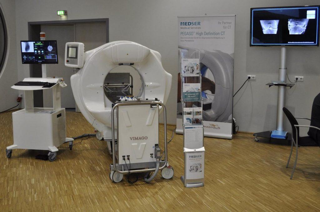 Epica Imaginalis Vimago CTBT Veterinary Scanner